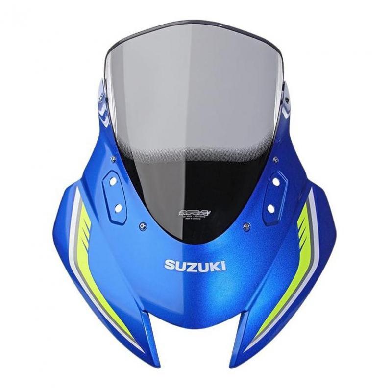 Bulle MRA Racing fumée Suzuki GSX-R 125 17-18