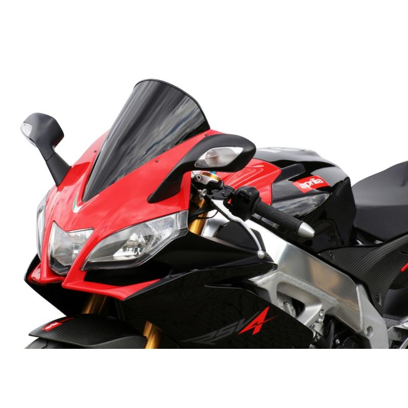 Bulle MRA Racing noire Aprilia RS4 125 11-14