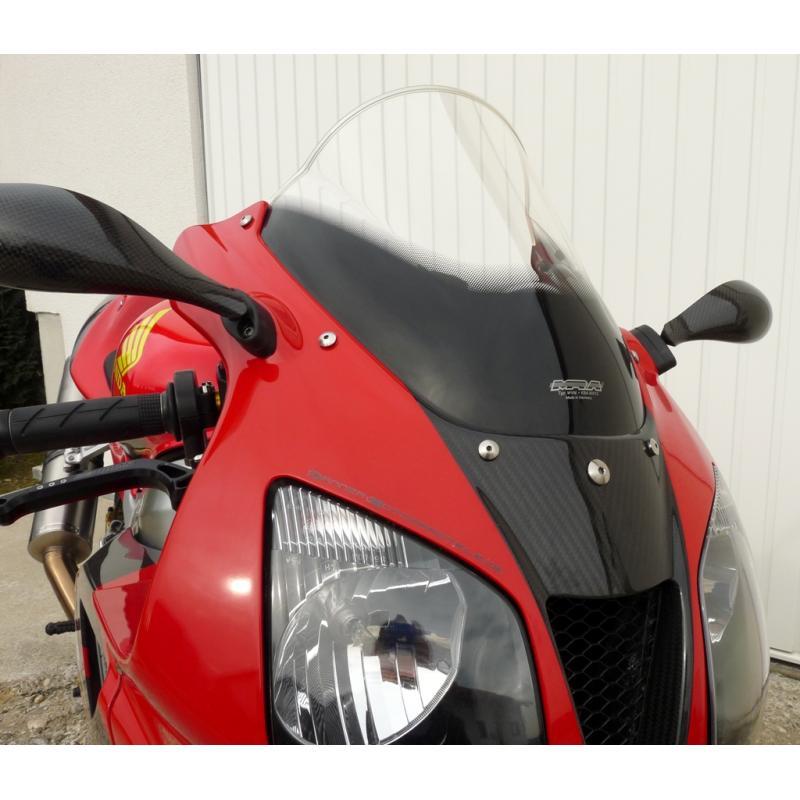 Bulle MRA Racing noire Honda VTR 1000 SP1 / SP2 99-03