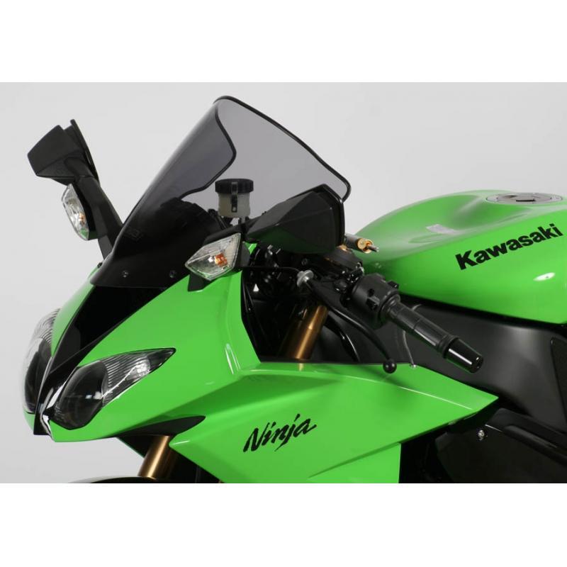 Bulle MRA Racing noire Kawasaki ZX-10R 08-10
