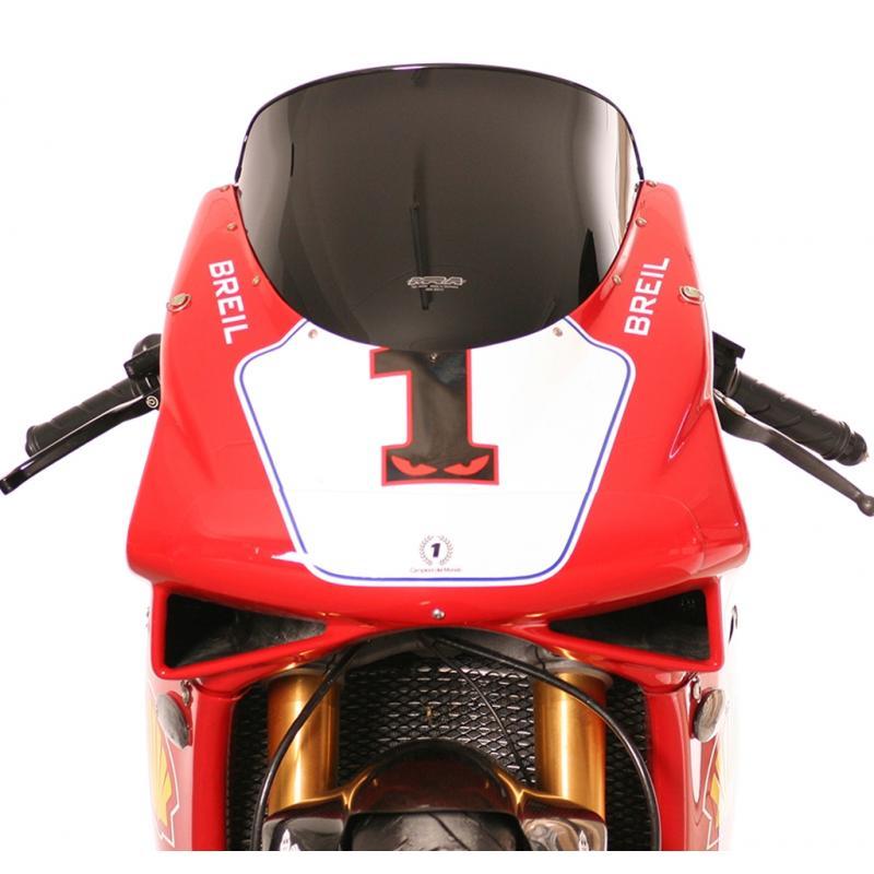 Bulle MRA Sport noire Ducati 748 95-03