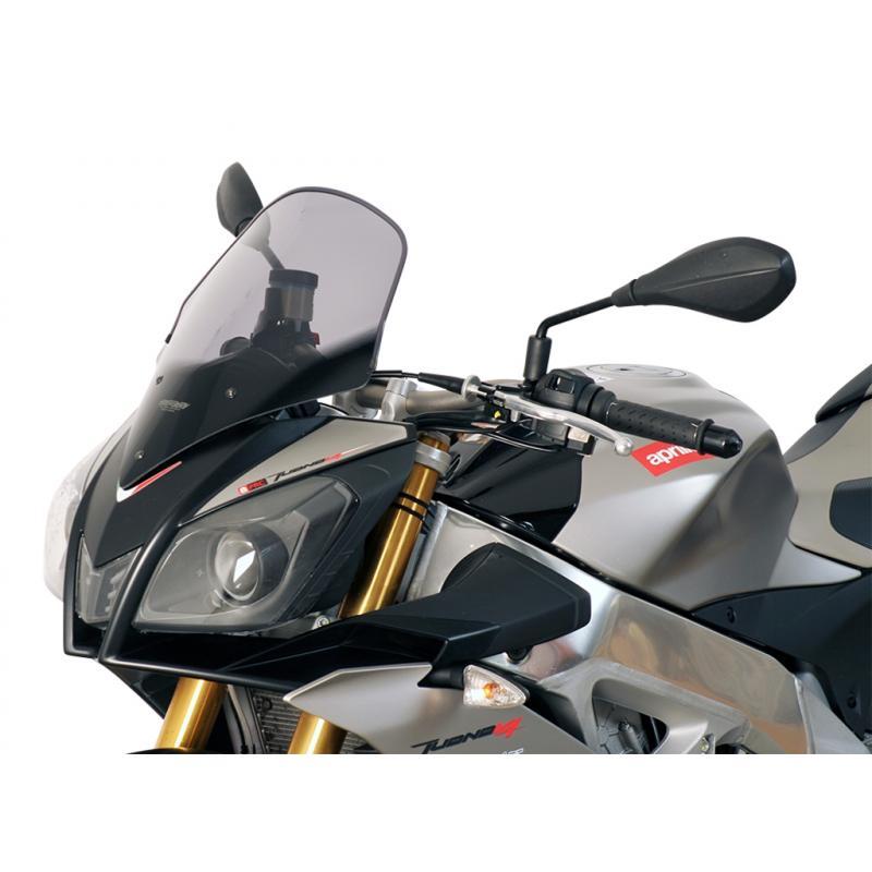 Bulle MRA Touring noire Aprilia Tuono V4R 11-14
