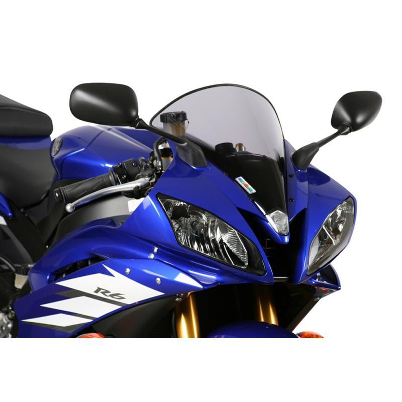 Bulle MRA type origine noire Yamaha YZF-R6 06-07