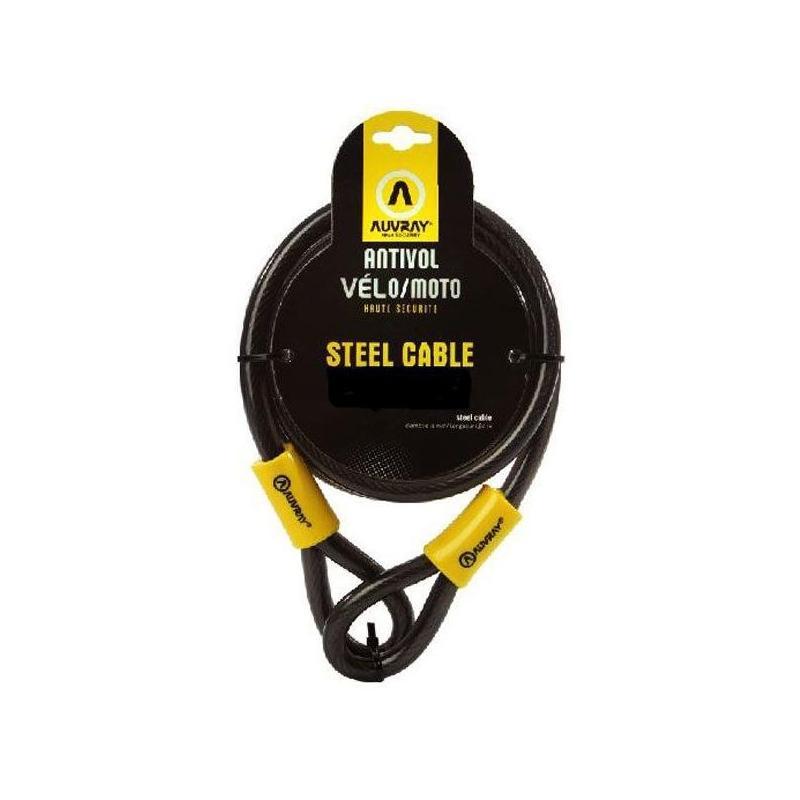 Câble acier Auvray 9 mètres diamètre 15