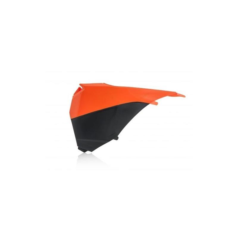 Cache de boîte à air Acerbis KTM 125 SX 13/15 orange/blanc