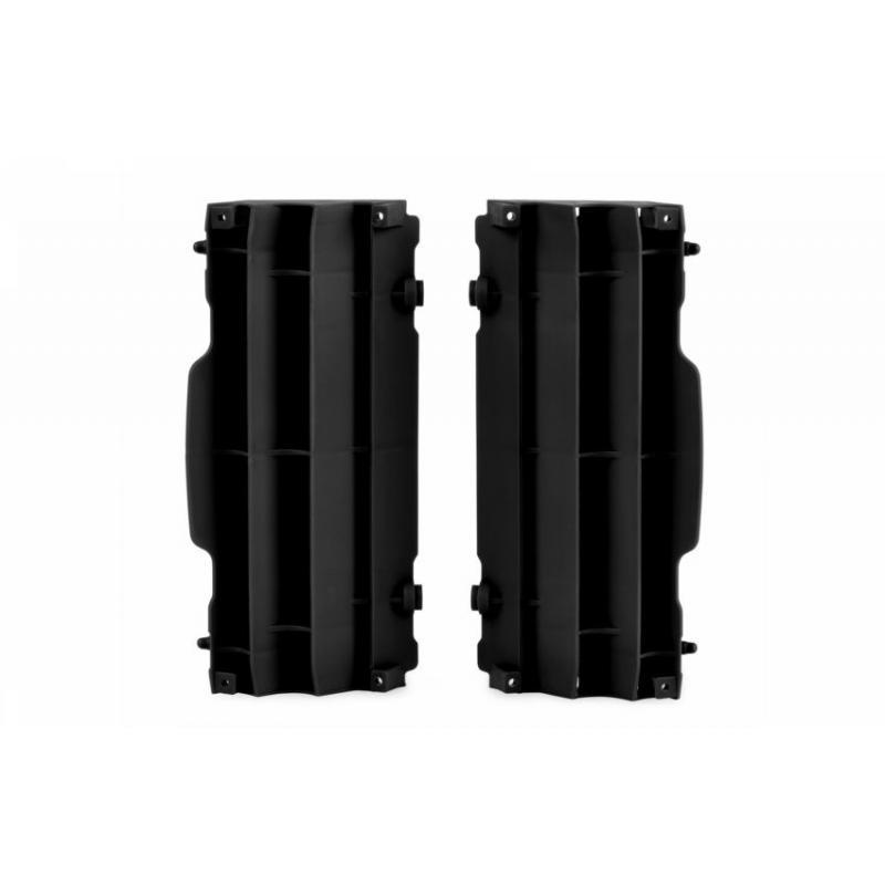 Caches de radiateur Polisport Husqvarna 450 FC 16-17 (noir origine)