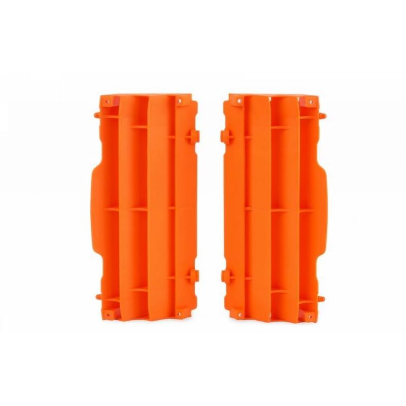 Caches de radiateur Polisport KTM 450 SX-F 16-17 orange