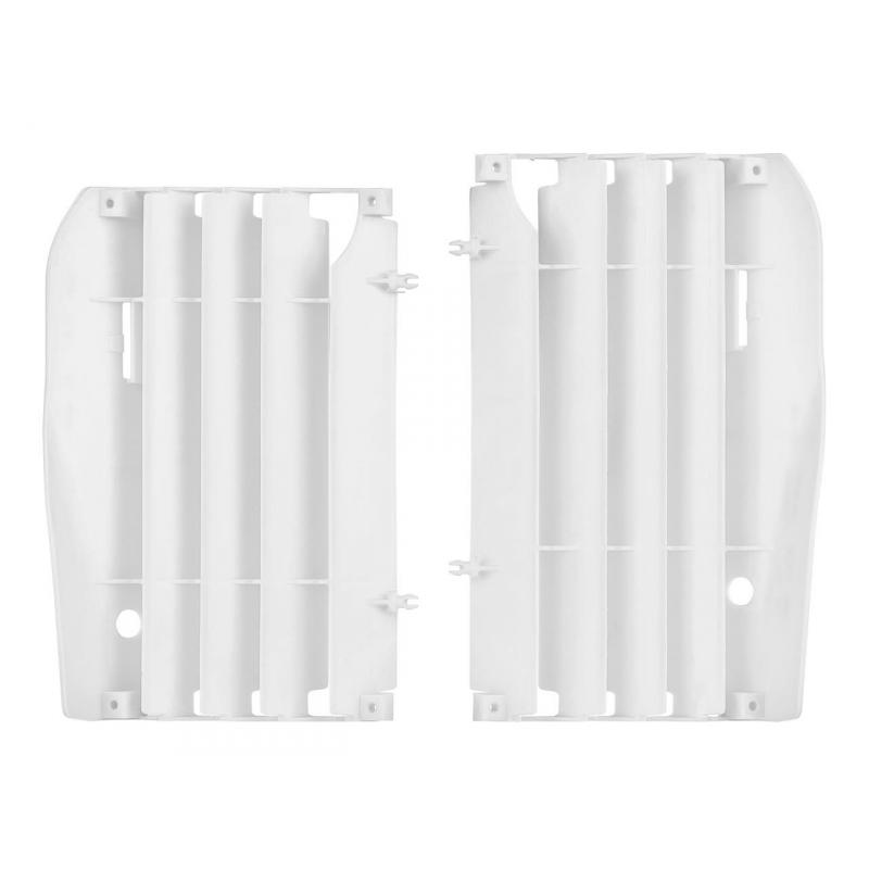 Caches radiateur Polisport Honda CRF 250R 10-13 blanc
