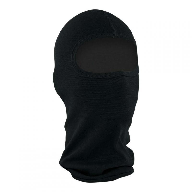 Cagoule hublot Zan Headgear coton noir