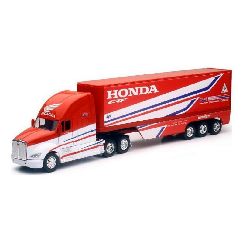 Camion Team Honda US HRC 1:32 NewRay rouge/blanc