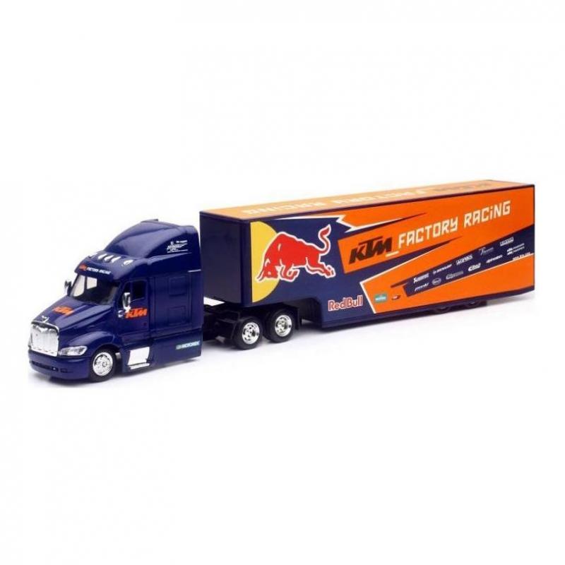 Camion Team KTM Red Bull 2017 1:43 NewRay bleu/orange