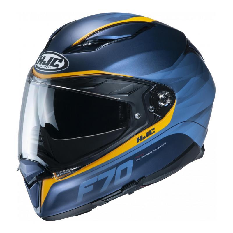 Casque intégral HJC F70 Feron MC2SF bleu/orange