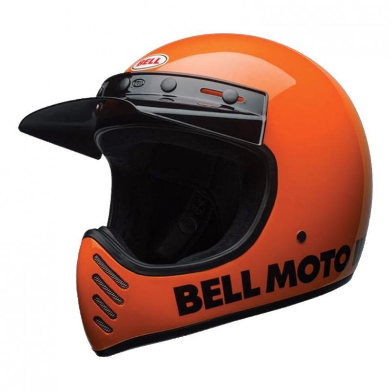 Casque Bell Moto 3 Classic orange fluo