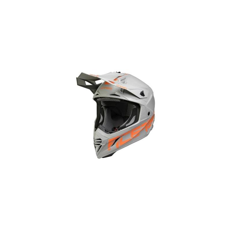 Casque cross Acerbis X-Track gris