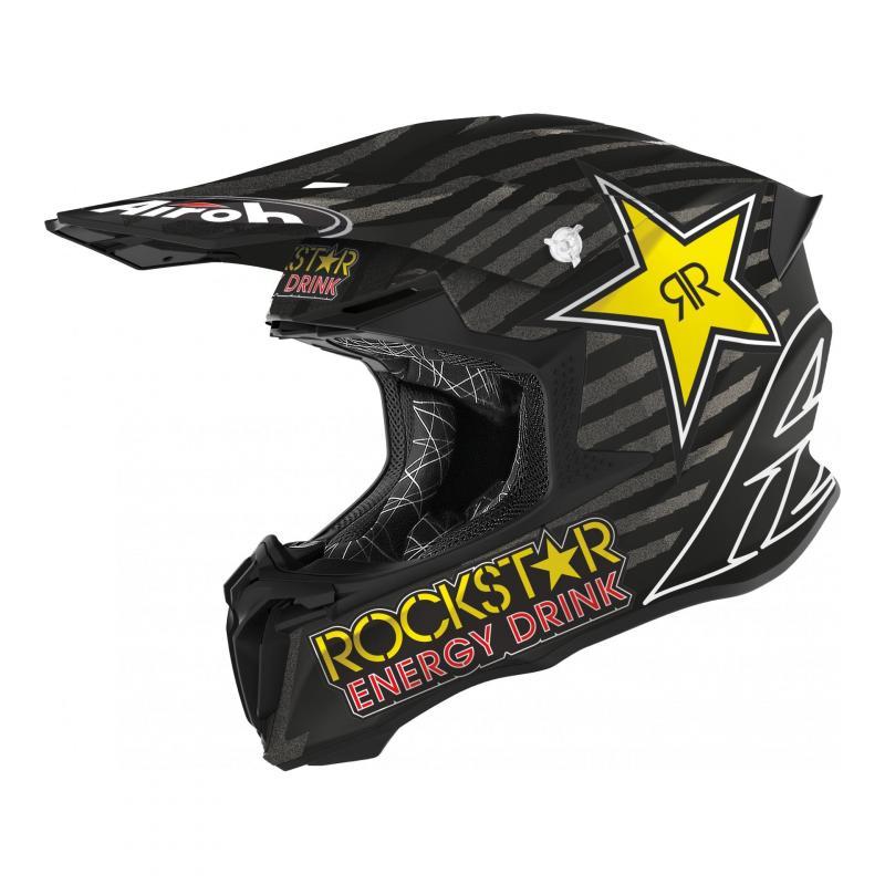 Casque cross Airoh Twist 2.0 Rockstar 020 mat