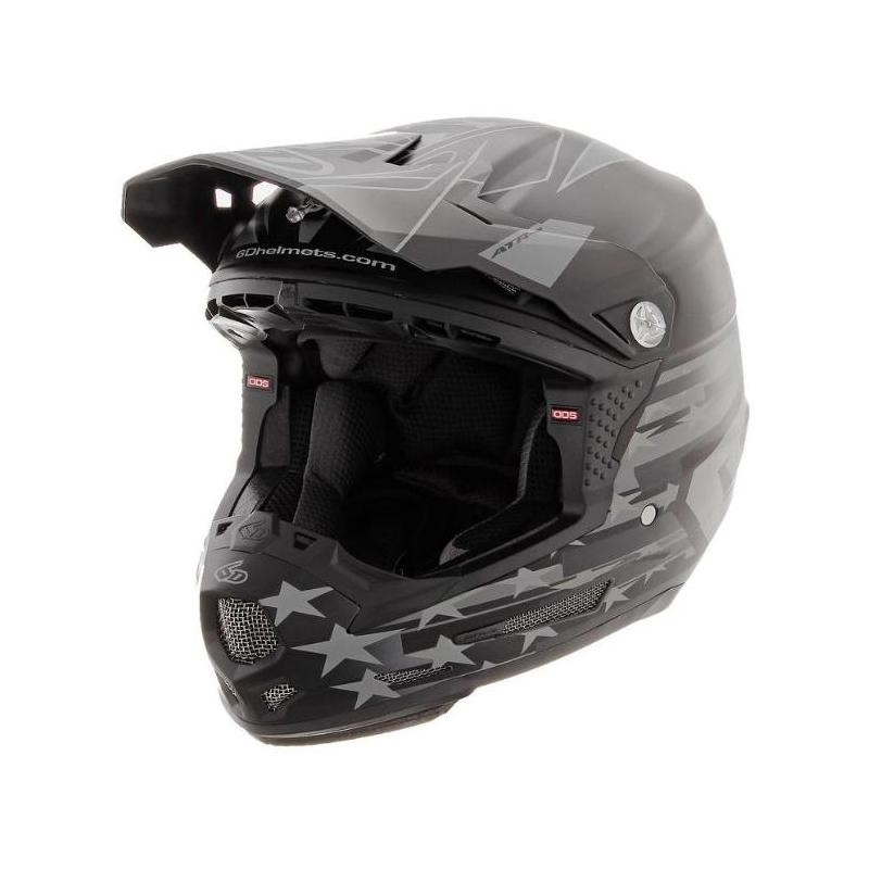 Casque cross enfant 6D ATR-2 Y Patriot noir mat