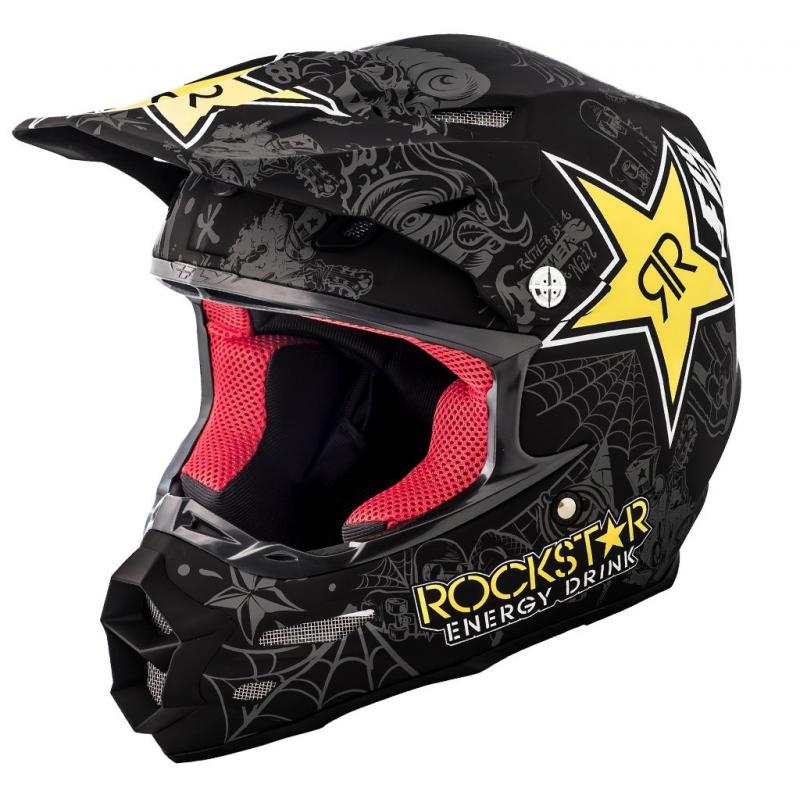 Casque cross Fly Racing F2 Carbon Rockstar