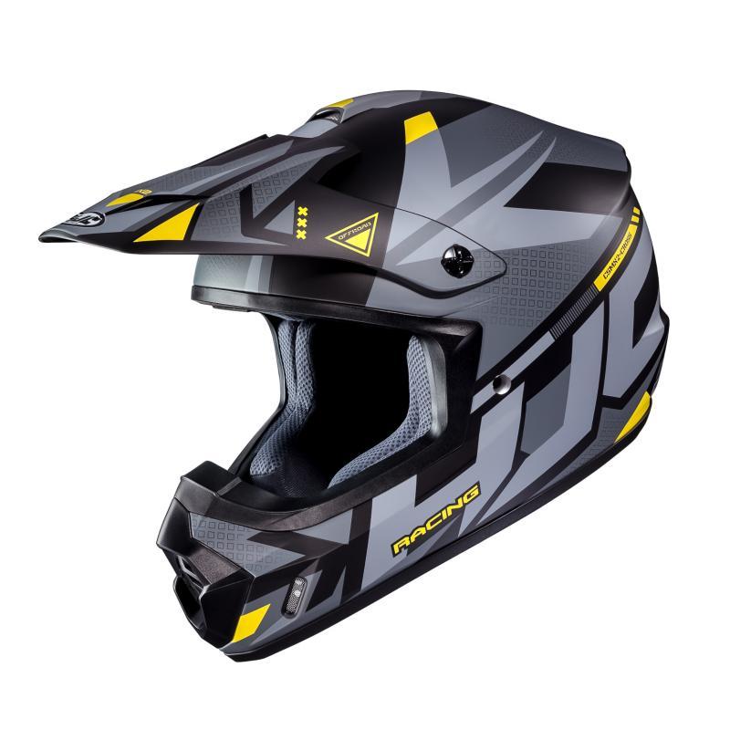Casque cross HJC CS-MX II Madax gris/jaune