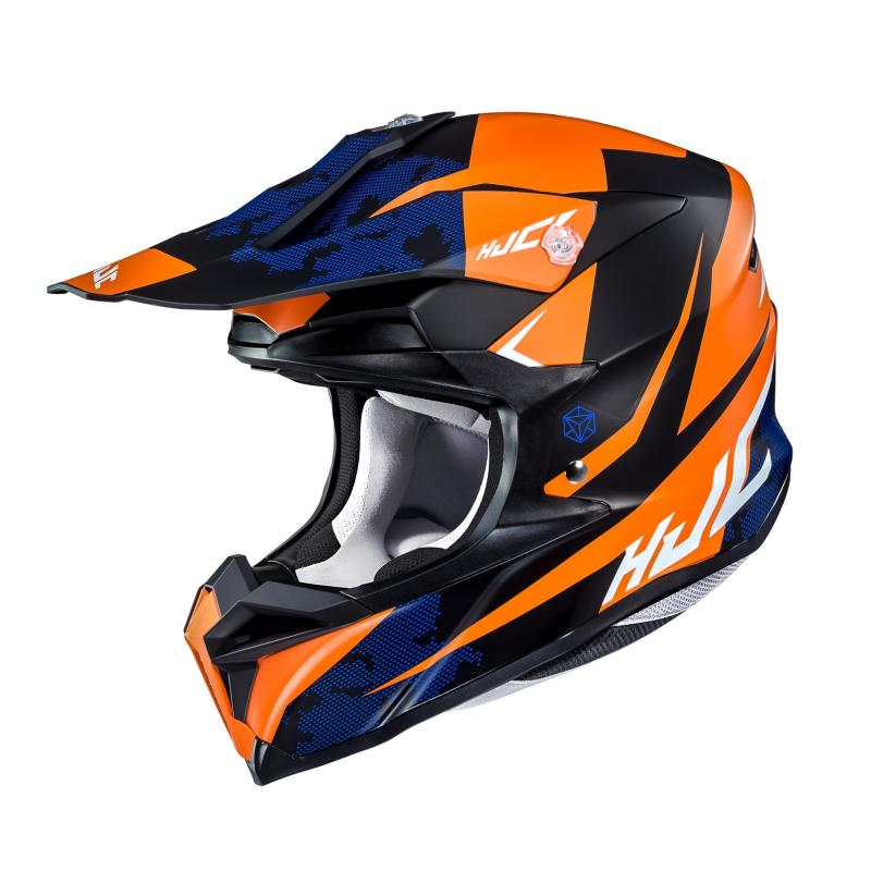 Casque cross HJC I50 Tona noir/orange