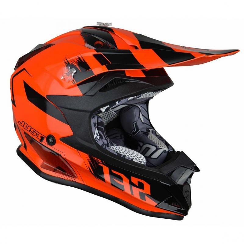 Casque cross Just1 J32 Pro Kick orange / noir