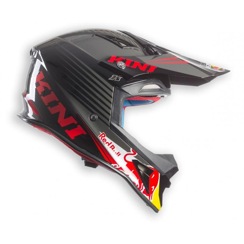 Casque cross Kini Red Bull Competition noir