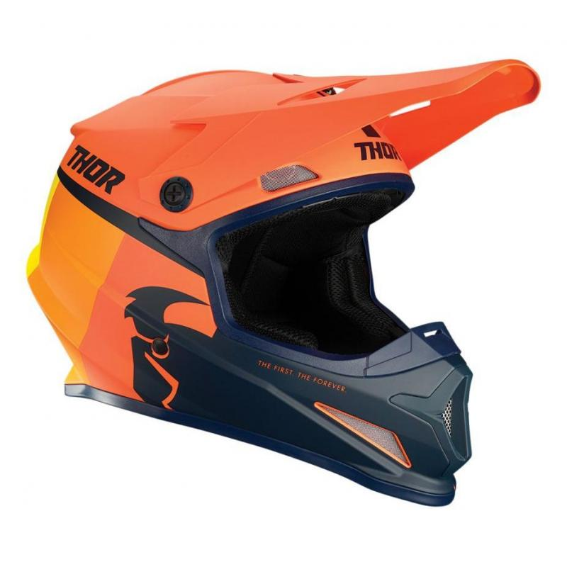Casque cross Thor Sector Racer orange/midnight mat