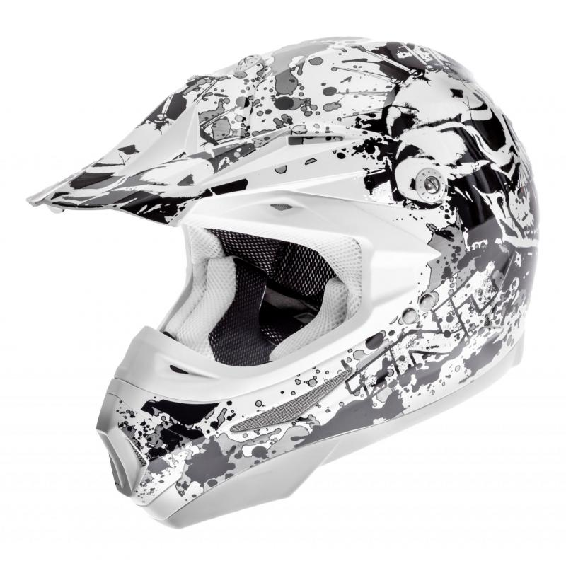 Casque cross TNT helmets dead head