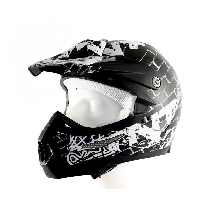 Casque cross TNT helmets street