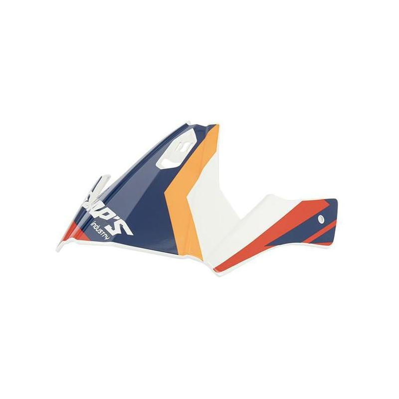 Casque de casque jet Swaps S769 Trooper blanc/rouge/bleu