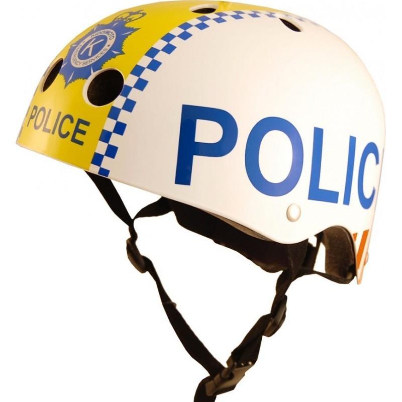Casque enfant Kiddimoto Police