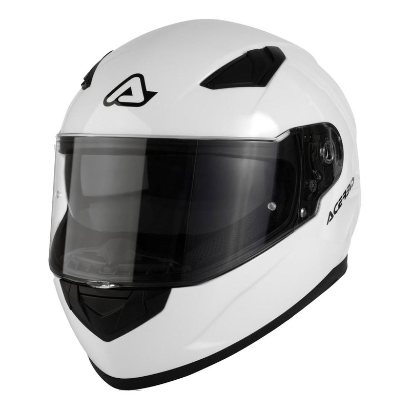 Casque intégral Acerbis X-Street FS-816 blanc mat