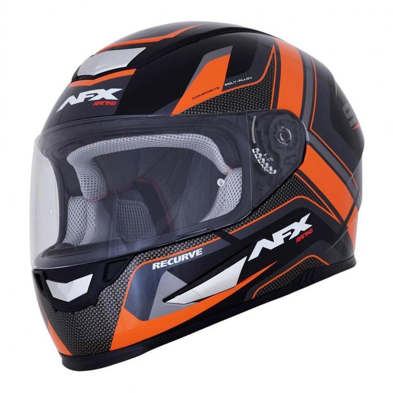 Casque intégral AFX FX99 noir/orange