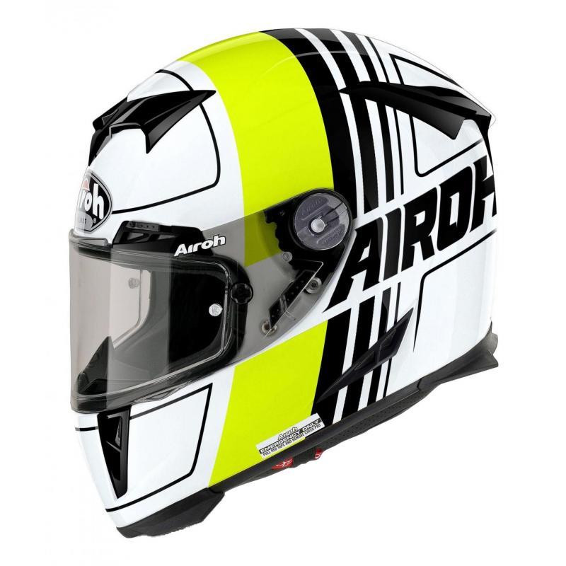 Casque intégral Airoh GP 500 Scrape jaune