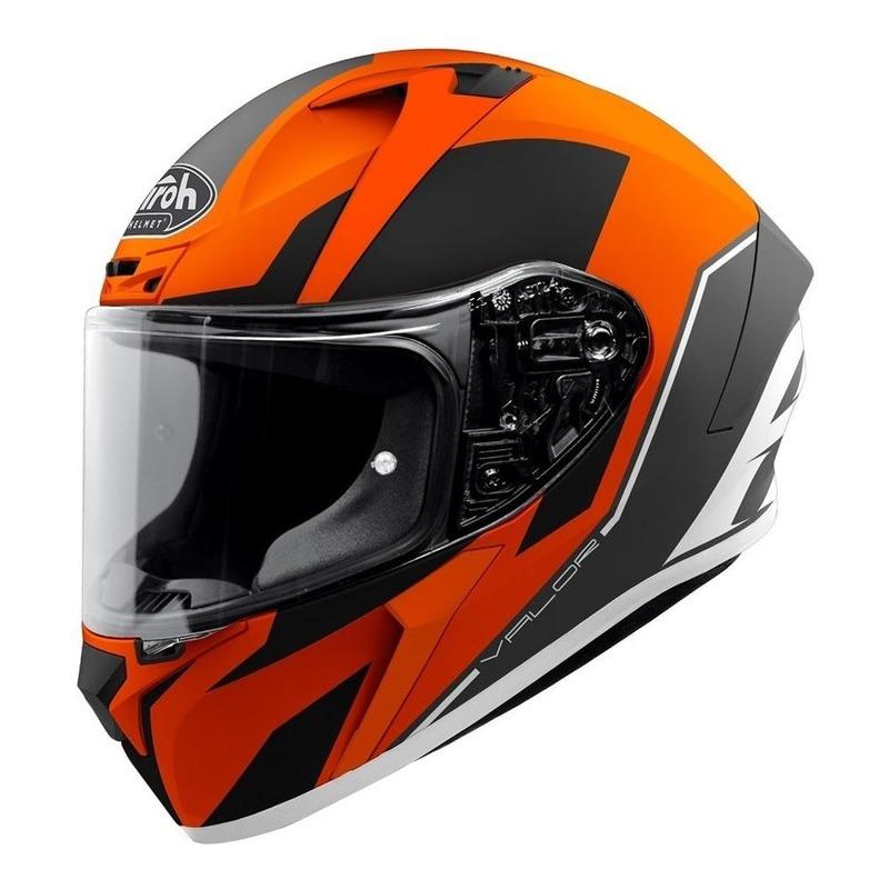 Casque intégral Airoh Valor Wings orange/noir/blanc