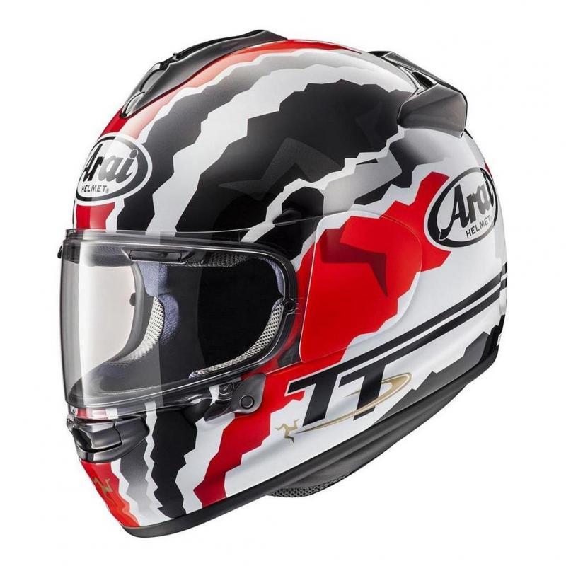 Casque intégral Arai Chaser-X Doohan TT noir/gris/blanc/rouge