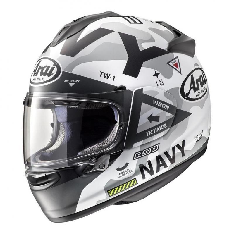 Casque intégral Arai Chaser-X Navy Blanc