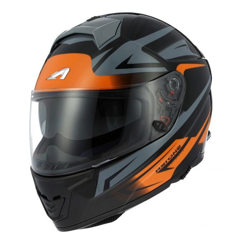Casque intégral Astone GT1000F NASH orange
