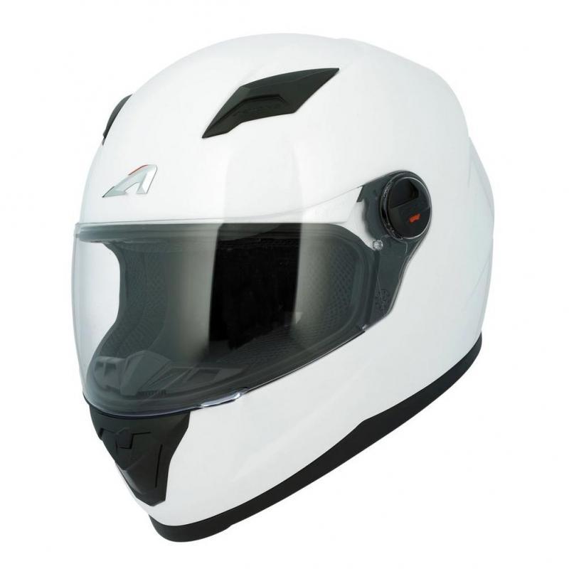 Casque intégral Astone GT2 Monocolor blanc