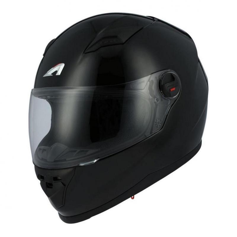 Casque intégral Astone GT2 Monocolor noir