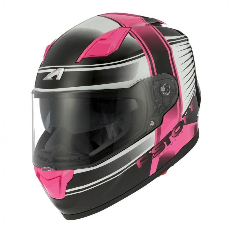 Casque intégral Astone GT900 exclusive CORSA rose