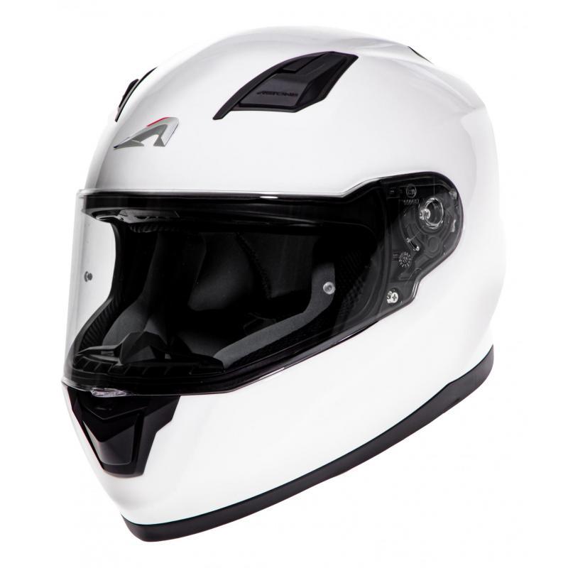 Casque intégral Astone GT900 Monocolor blanc
