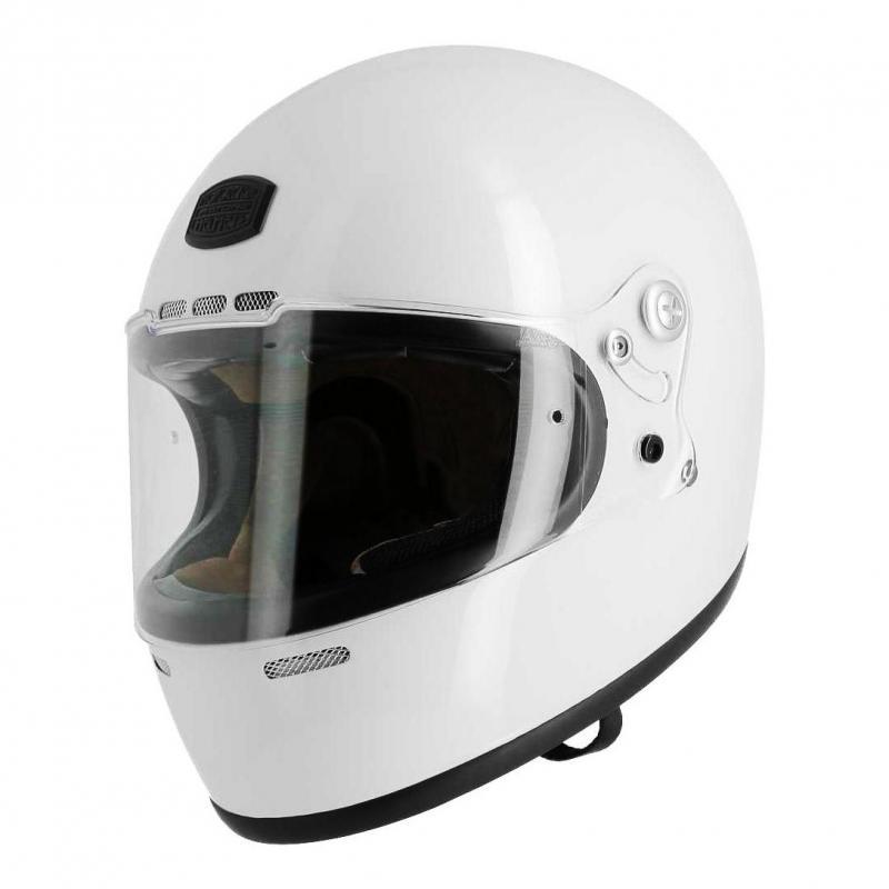 Casque intégral Astone VINTAGE GT RETRO blanc