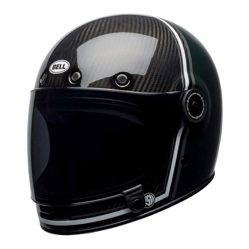 Casque intégral Bell Bullitt Carbon RSD Gloss/Matte green range