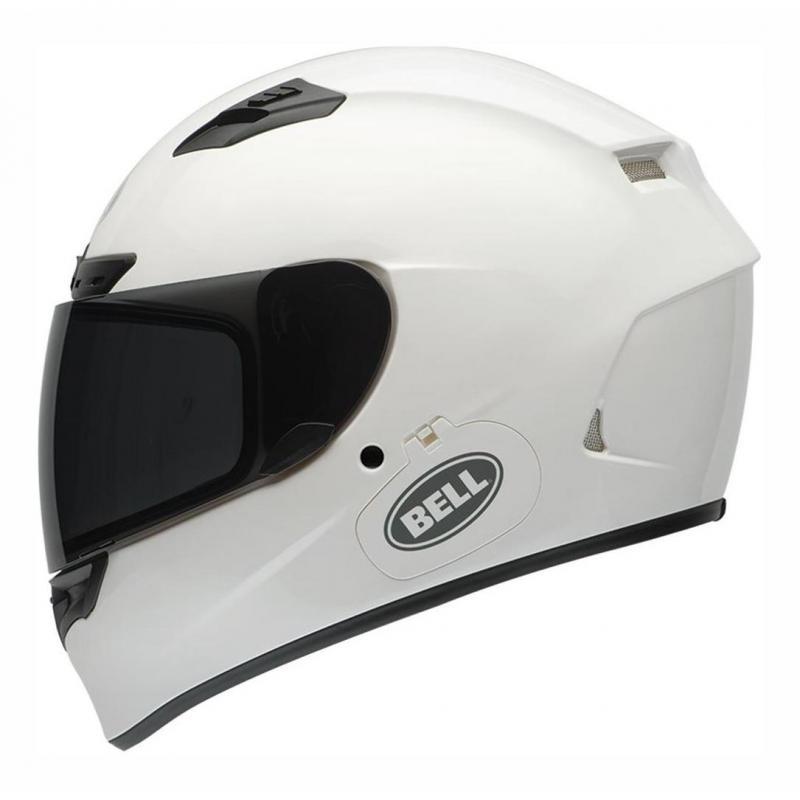Casque intégral Bell Qualifier DLX Solid blanc