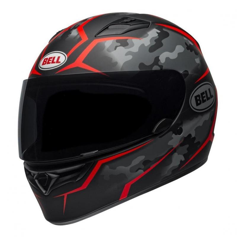 Casque intégral Bell Qualifier Stealth Camo rouge