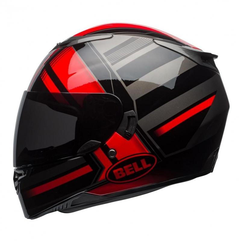 Casque intégral Bell RS 2 Tactical rouge/noir/titanium