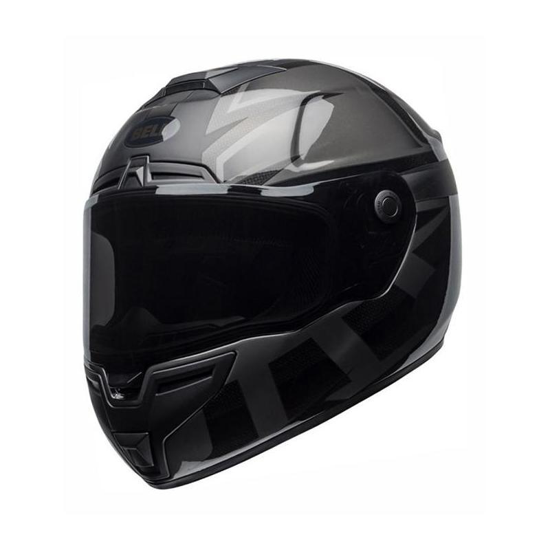 Casque intégral Bell SRT Blackout noir/gris mat/brillant