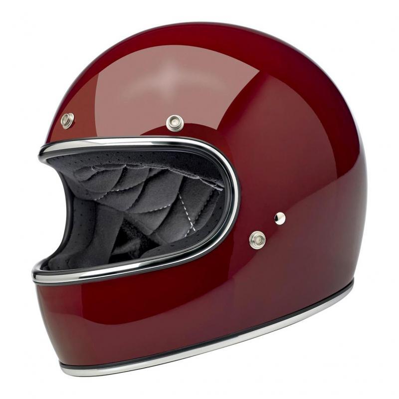 Casque intégral Biltwell Gringo Garnet rouge