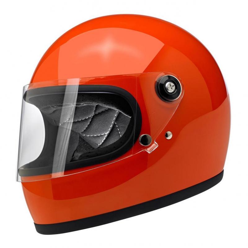 Casque intégral Biltwell Gringo S Hazard orange