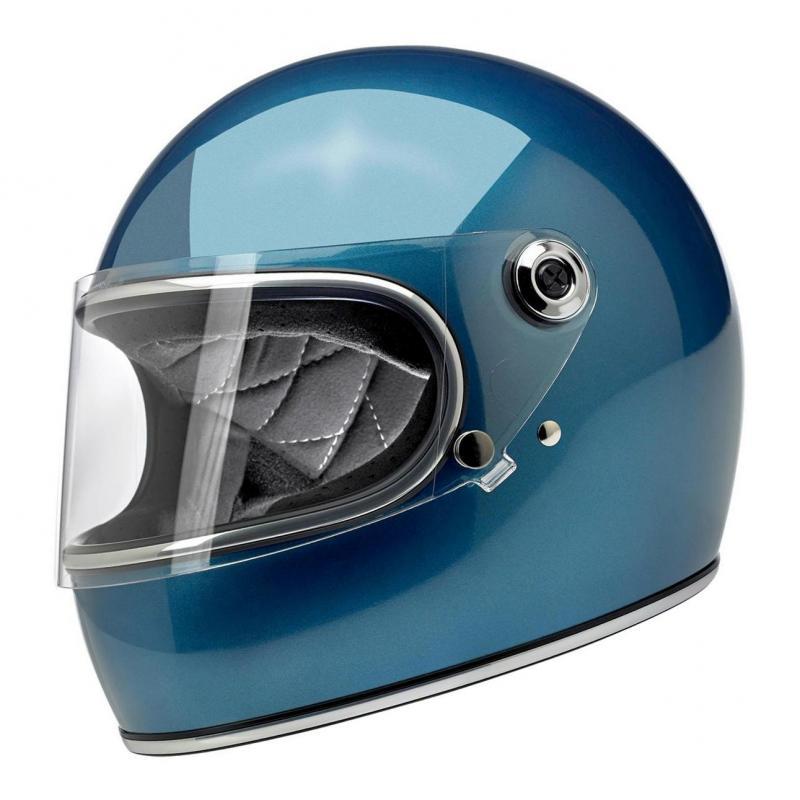 Casque intégral Biltwell Gringo S Pacific bleu